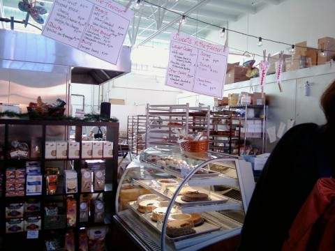 The interior of the Mariposa Bakeshop