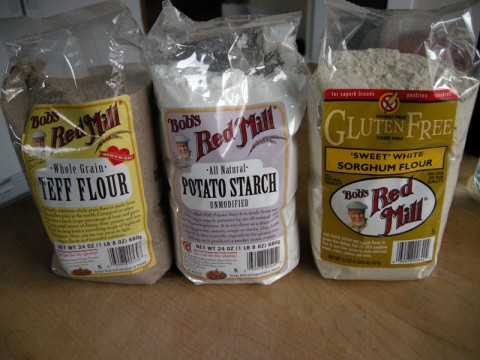 Different Gluten Free Flours
