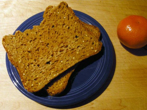 Gluten Free Oatmeal Millet Bread