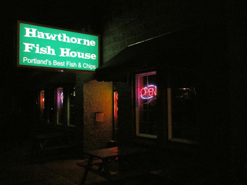 Restaurant review hawthorne fish house gluten free portland for Hawthorne fish house