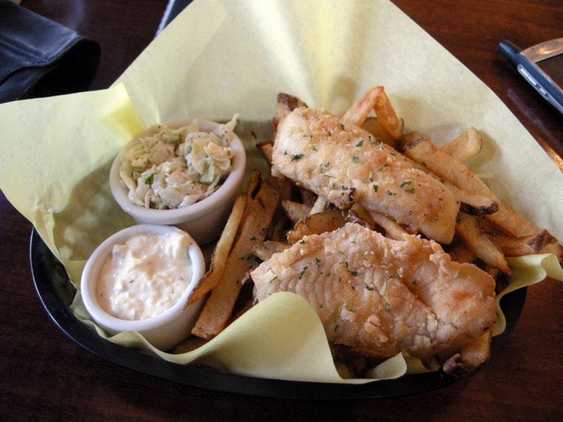 Restaurant review virgo and pisces gluten free portland for Gluten free fish and chips