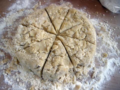 Gluten Free Scone Pile