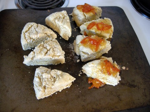 Gluten Free Coconut Creme Scones