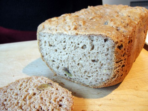 Gluten Free Walnut Bread by Annalise G. Roberts