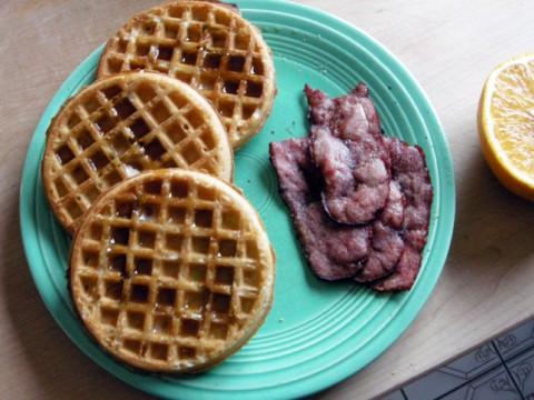 Trader Joe's Frozen Gluten Free Waffles