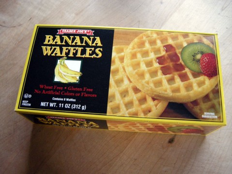 Trader Joe's Gluten Free Banana Waffles
