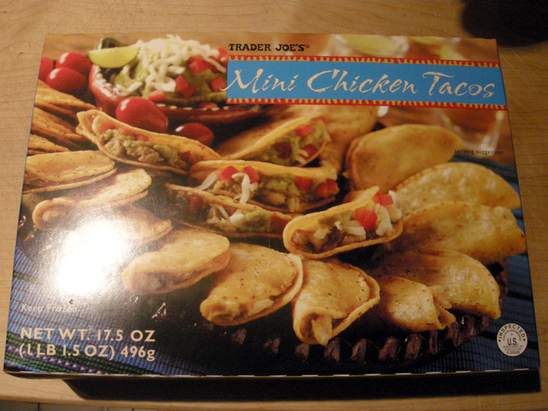 Product Review Trader Joe S Mini Chicken Tacos Gluten