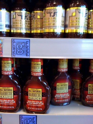 Trader Joe's Gluten-Free Barbecue Sauces