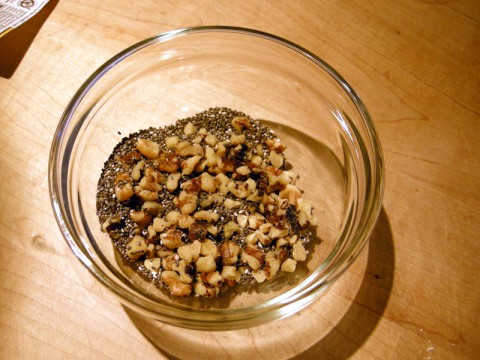 Walnuts and Chia Seeds