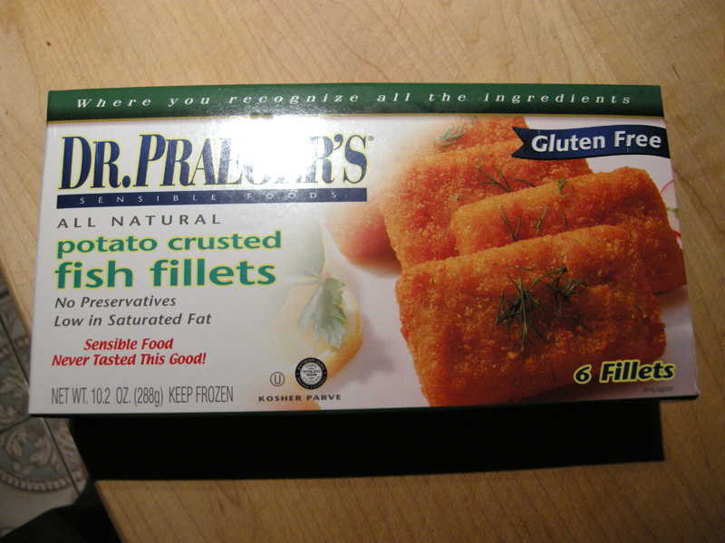 Product review gluten free fish sticks and energy bars for Gluten free fish breading
