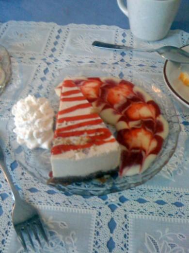 Cashew Cream Torte
