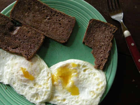Gluten Free Teff Bread with Eggs