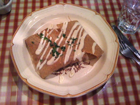 Gluten Free Crepe at Chez Machin