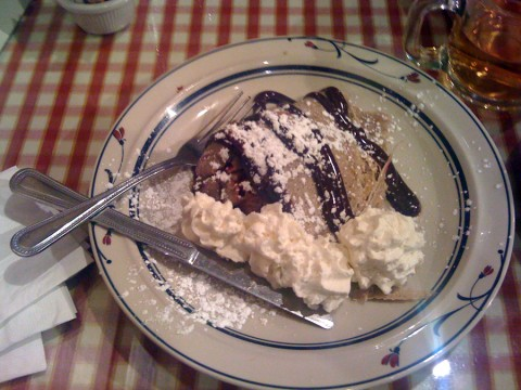 Gluten Free Sweet Crepe - Chez Machin Portland Oregon