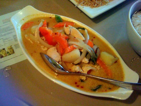 Gluten-Free Yellow Curry at Thai Fresh