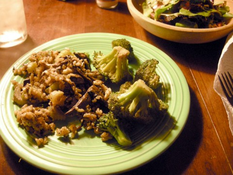 Mushroom and Wild Rice Pilaf