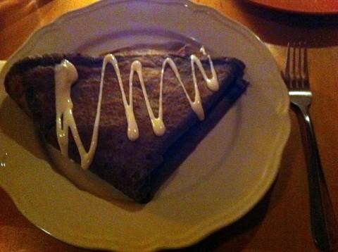 Gluten Free Savory Crepe