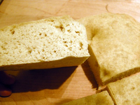 Gluten Free focaccia bread