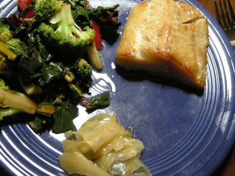 Black Cod Braised with Savory Miso Glaze