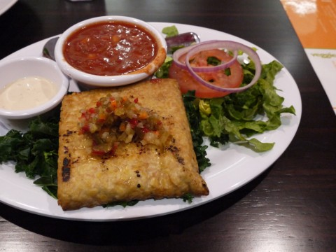 Veggie Grill Portland Bali Bliss on Kale