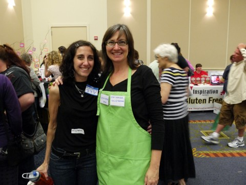 Lisa Shaver and Dr. Samantha at the GIG Fair